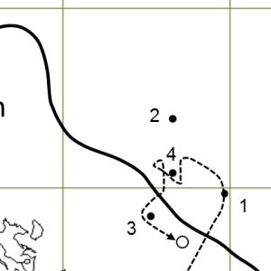 米海軍第38任務部隊の台風による遭難その1(2)