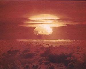 大気圏核実験に対する放射能観測(1)