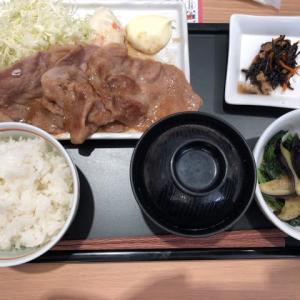 【下丸子】デニーズ 生姜焼き定食
