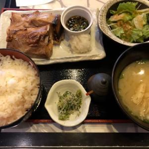 【浜松町】ニッ ポンまぐろ漁業団 マグロカマ焼き定食
