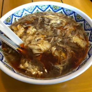 【碑文谷】中国ラーメン 揚州商人 酸辣湯麺、餃子と春巻