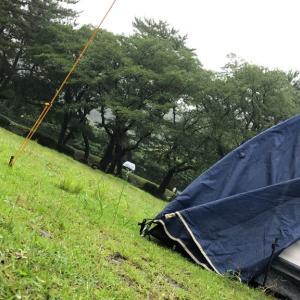 雨のデイキャンプを満喫しました