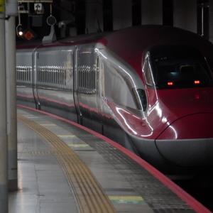 南新宿駅2番線に滑り込む電車・南新宿3号踏切を通過する電車