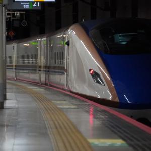 西武多摩川線「是政駅」赤電253編成・是政橋からの眺望と南武線