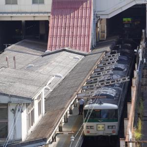 多摩川橋梁を北へ渡る南武線E233系