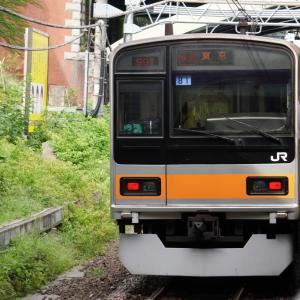 京王新線「初台駅」本八幡行電車と首都高速「中央環状線・4号新宿線」