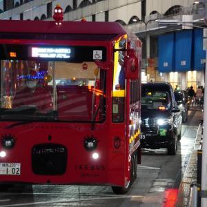 ショートブログ/西武池袋駅・西武百貨店・IKE BUS