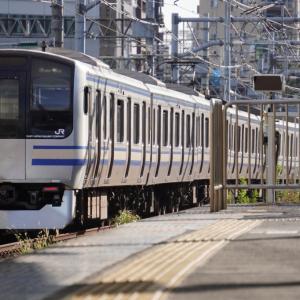 ショートブログ/JR品川駅13・15番線 横須賀総武快速線ホーム E217系