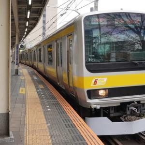 ショートブログ/JR新宿駅 特急ホーム・高層ビル群付近の都市風景
