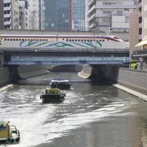 梶原踏切<下り>列車後方・尾久車両センター