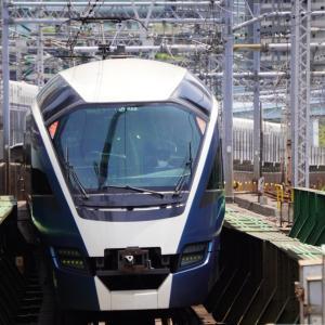 ショートブログ/JR秋葉原駅6番線<下り>の緩行線と特急・秋葉原の街