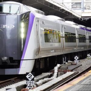 ショートブログ/JR山手線 新大久保駅横の山手線貨物線・西武新宿駅付近の風景