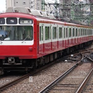 鶯谷 凌雲橋 常磐線上野方面行と、その到着先の上野駅16・17番線