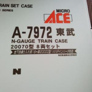 【東武鉄道】20070系 マイクロエース