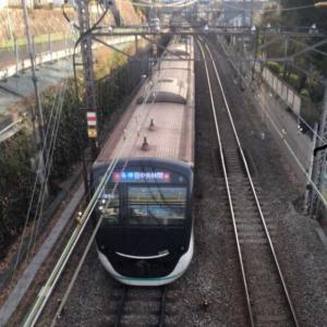 【東急電鉄】二子玉川で眺める