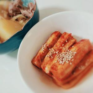 韓国風豆腐の煮付け☆