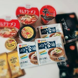 新大久保での購入品☆(食品編)