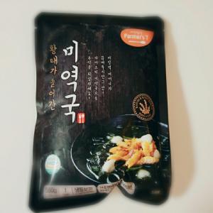 新大久保で購入¥68の冷凍わかめスープ♪