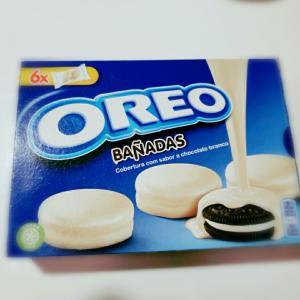 オレオのホワイトチョコがけ☆