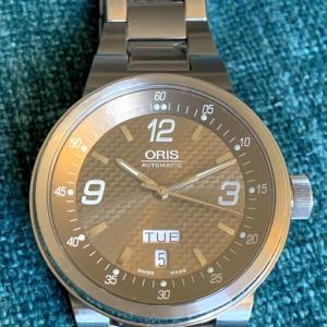 ORIS TT2 day date
