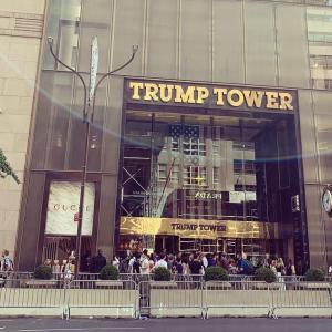 今日のスターバックス Trump Tower @ 57th&Fifth