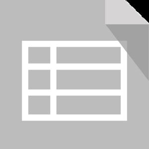 はてなブログで表を作成するにはExcelからコピーして貼付けると簡単です