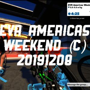 EVR Americas Weekend (C)
