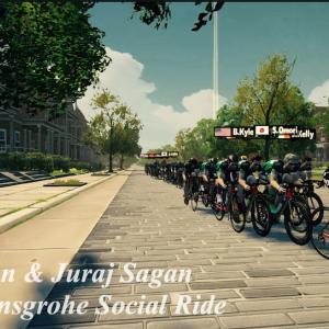 Peter Sagan & Juraj Sagan // BORA - hansgrohe Social Ride