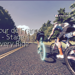 Virtual Tour de France - Open - Stage 1 Discovery Ride