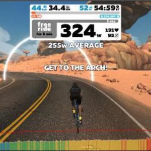 Zwift Academy Road: Workout 1 | Aerobic Power