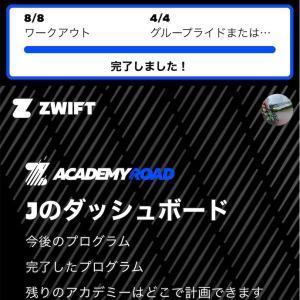 Zwift Academy Road 2020: Workout 5〜8