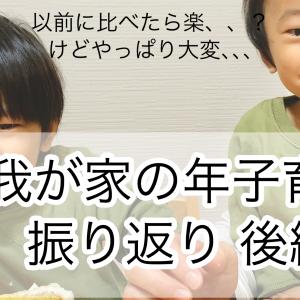 【我が家の年子育児 後編】2歳と1歳のいま!兄弟がいっしょに遊んでくれるおもちゃも!