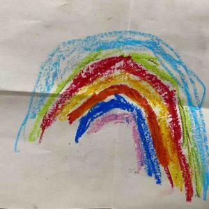 ラララ虹が虹が🌈
