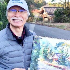柴崎春通(しばさき はるみち) 50万登録者を抱える水彩画講師YouTuberについて紹介!