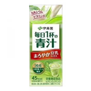 【伊藤園】毎日1杯の青汁 まろやか豆乳ミックス