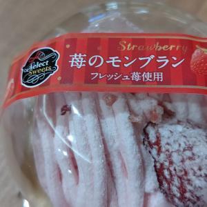 【プレシア】苺のモンブラン フレッシュ苺使用
