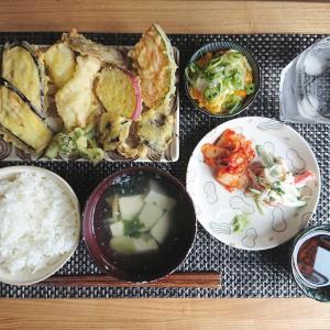 おうちで天ぷら定食ごはん【晩ごはん献立】