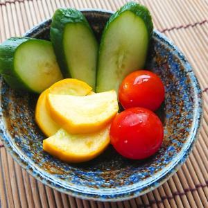 【夏野菜】黄色ズッキーニで浅漬けを作ったら見たも鮮やかで美味しかった!【副菜レシピ】