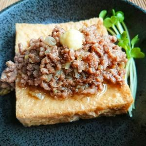 絹厚揚げのひき肉あんかけの作り方 レシピ【一品料理】