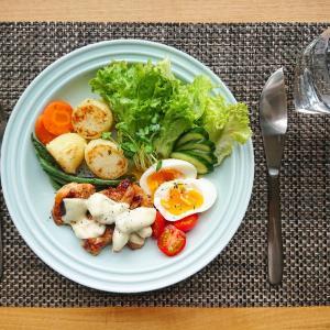フライパンで作る簡単ローストチキンプレート【レシピ】