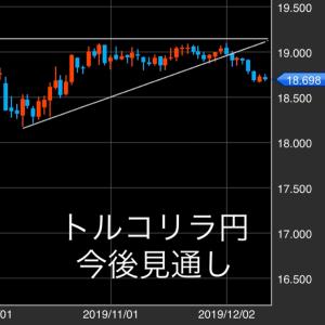 トルコリラ円 今後の見通し(12/12)