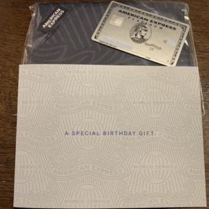 【2020年】American Express 誕生日プレゼント