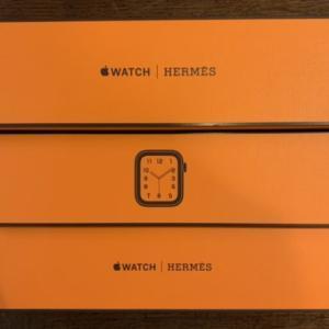 弾丸入手!Apple Watch series6 HERMES