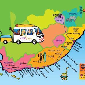 南アフリカ・ケープタウンをとことん楽しむ方法(BazBusジェフリーズベイ編)