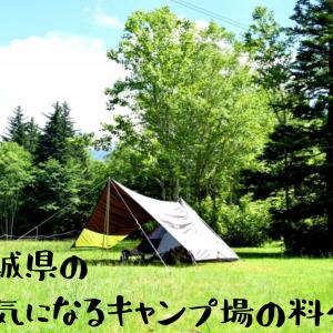 《宮城県のキャンプ場》利用料を徹底検証してみた