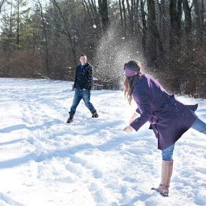 【魚沼国際雪合戦】雪不足で代替案