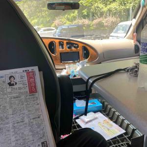 新聞を読み余裕をかますが・・・・暑くてダメ