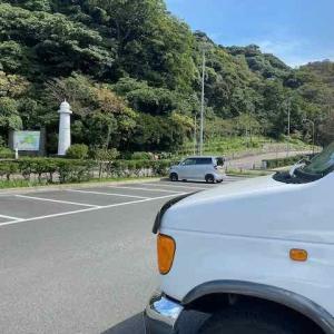 観音崎公園 正面駐車場