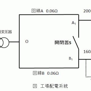 エネルギー管理士試験(電気分野)工場配電 電流の効率化の解説 2015年課目3問8