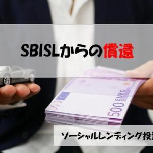 【一区切り】SBIソーシャルレンディングから元本相当額の入金